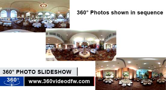360° Photo slideshow Option from 360 Video DFW