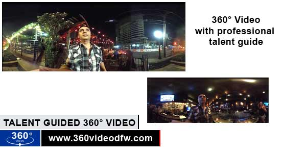 Talent/MC Guided 360° Video Showcase from 360 Video DFW