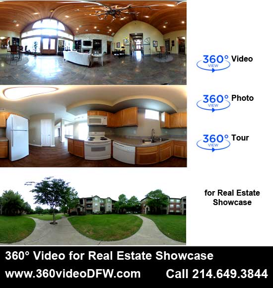 360° Video recording service/360 degree media production in the Dallas-Fort Worth Metroplex